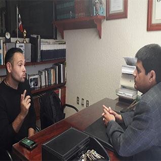 Reunión con Martin Cabrera, Hoteles OYO