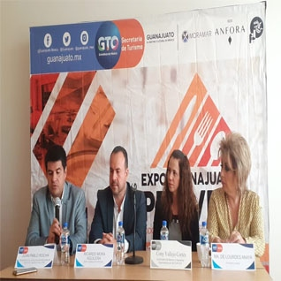 Conferencia de Prensa Expo Guanajuato Provee