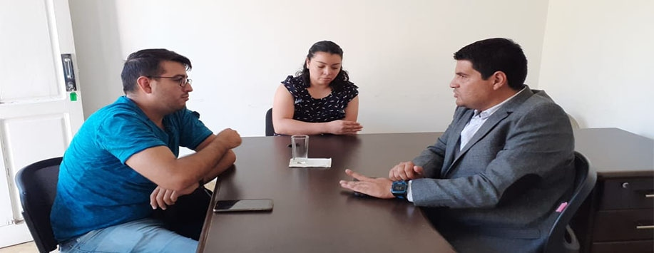 Reunión con Director de la Facultad de Turismo de Negocios UDL